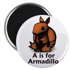 A is for Armadillo 2.25