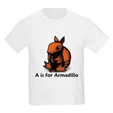 A is for Armadillo T-Shirt