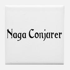 Naga Conjurer Tile Coaster
