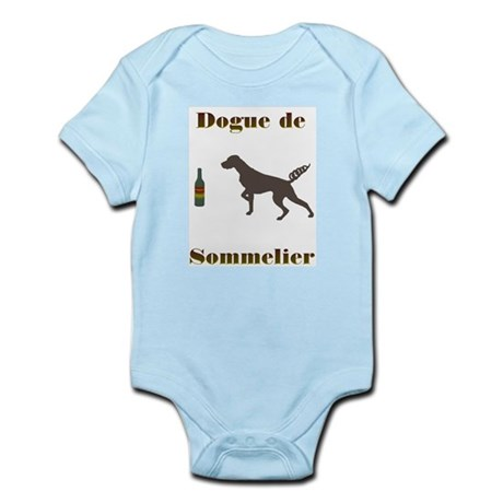 Sommelier Dog Infant Creeper