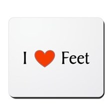 Feet Mousepad
