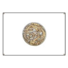 Gold Dragon Banner