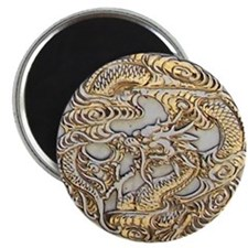 Gold Dragon Magnet