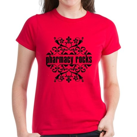 Pharmacy Rocks Women's Dark T-Shirt
