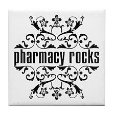 Pharmacy Rocks Tile Coaster