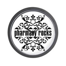 Pharmacy Rocks Wall Clock