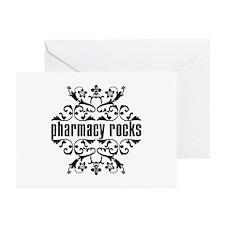 Pharmacy Rocks Greeting Cards (Pk of 10)