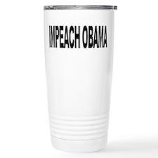Impeach Obama (L) Travel Coffee Mug