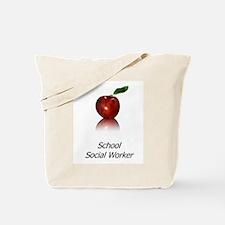 School Social Worker Tote Bag