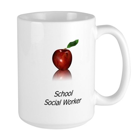School Social Worker Large Mug