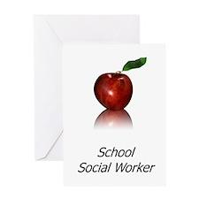 School Social Worker Greeting Card