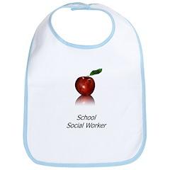 School Social Worker Bib