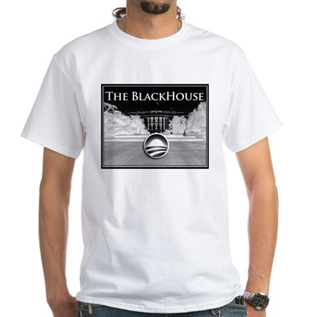 black house White T-Shirt