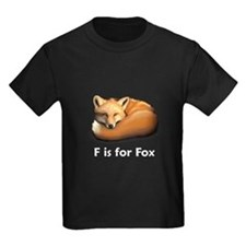 F is for Fox T