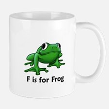 F is for Frog Mug