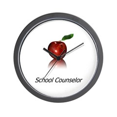 School Counselor Wall Clock