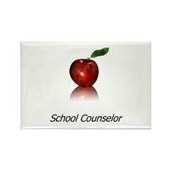 School Counselor Rectangle Magnet (10 pack)