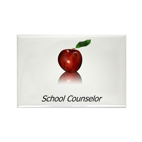 School Counselor Rectangle Magnet