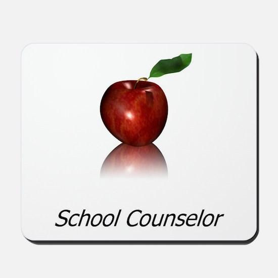 School Counselor Mousepad