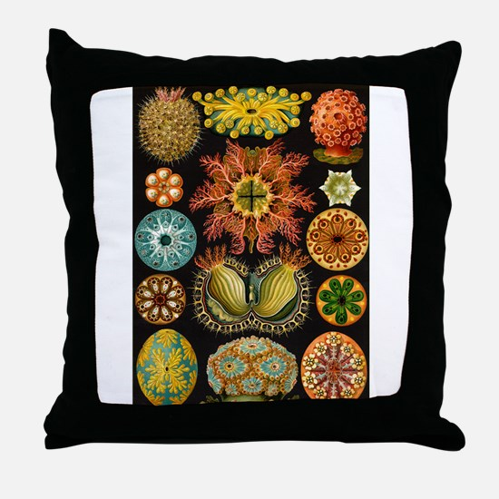 Sea Squirts Throw Pillow