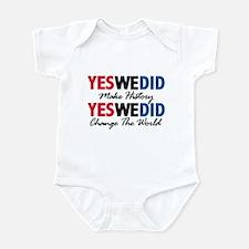 Yes We Did Make History Infant Bodysuit