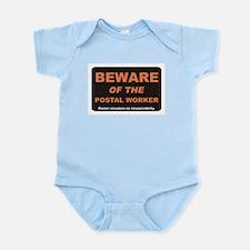 Beware / Postal Worker Infant Bodysuit