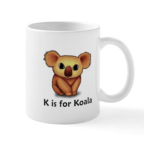 K is for Koala Mug