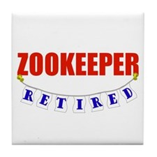 Retired Zookeeper Tile Coaster