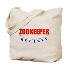 Retired Zookeeper Tote Bag