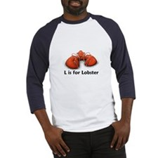 L is for Lobster Baseball Jersey