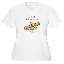 Social Workers Rule T-Shirt
