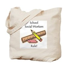Social Workers Rule Tote Bag