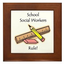 Social Workers Rule Framed Tile