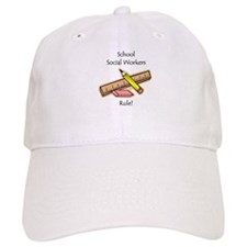Social Workers Rule Baseball Cap