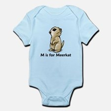 M is for Meerkat Infant Bodysuit