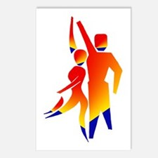 Latin Dancers #1 Postcards (Package of 8)