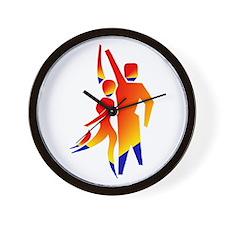 Latin Dancers #1 Wall Clock