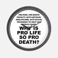 Why so pro death? Wall Clock