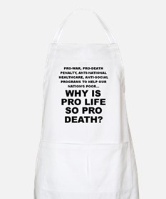 Why so pro death? BBQ Apron