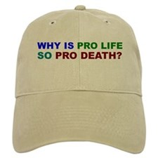 Why so pro death? Baseball Cap