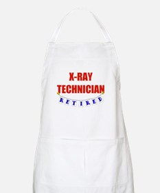 Retired X-Ray Technician BBQ Apron