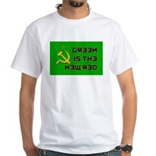 """""""Green Is The New Red"""" Shirt"""
