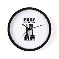 Pray For Delay Wall Clock