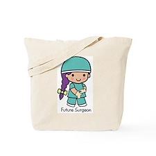 Future Surgeon girl Tote Bag