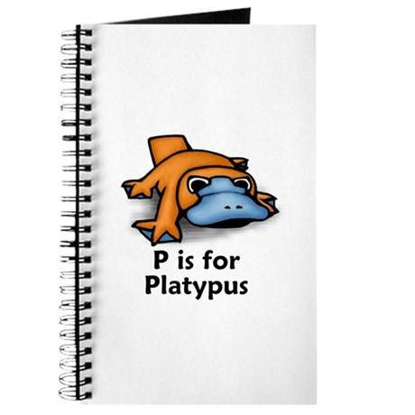 P is for Platypus Journal