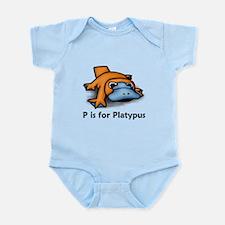 P is for Platypus Infant Bodysuit