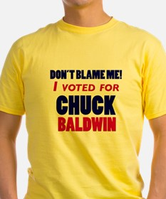 I Voted Chuck Baldwin T