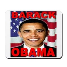 Barack Obama USA Flag Mousepad