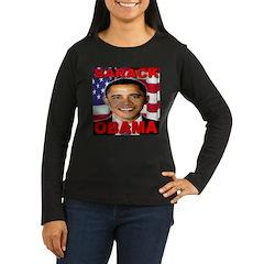 Barack Obama USA Flag T-Shirt