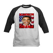 Barack Obama USA Flag Tee